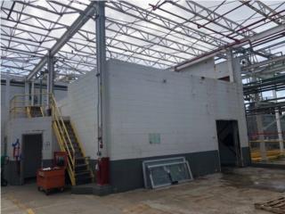 Estructura en acero de 18,000 pies2 aproximad, Equipo Construccion Puerto Rico