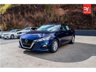 2019 NISSAN ALTIMA S - Blue, Nissan Puerto Rico