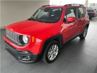 Jeep Renegade 2018 Latitude ** COMO NUEVA **, Jeep Puerto Rico