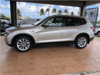 BMW X3 28i 2013 Xtra Clean Piel SRoof, BMW Puerto Rico