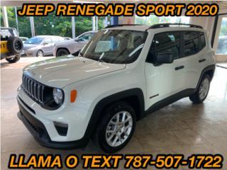 JEEP RENEGADE SPORT , Jeep Puerto Rico