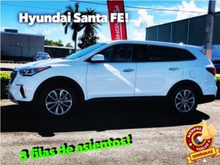 Hyundai Santa Fe! 3 filas de asientos, Hyundai Puerto Rico