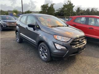 Ford EcoSport 2020 Oferta desde 0% interés, Ford Puerto Rico
