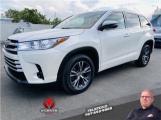 TOYOTA HIGHLANDER LE 2017, Toyota Puerto Rico