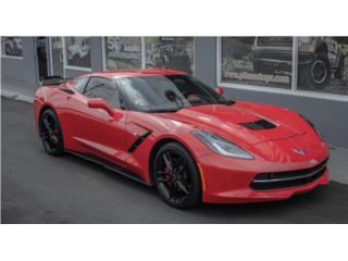 STINGREY /RED TOURCH /ADRENALINE RED V8 6.2L, Chevrolet Puerto Rico