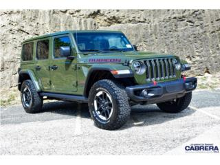 2021 Jeep Wrangler Unlimited Rubicon, Jeep Puerto Rico