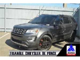 2016 Ford Explorer XLT, T617825, Ford Puerto Rico