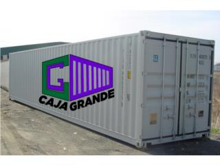 USED Steel Shipping Container on SALE, Equipo Construccion Puerto Rico