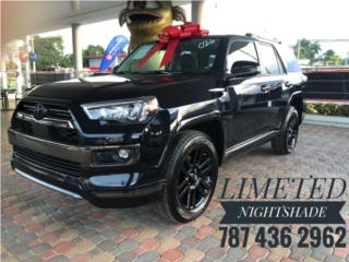 4 Runner Limited NIGHTSHADE 2021, Toyota Puerto Rico