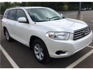 V6  blanca perla fulabel 3fila 2ac aros nueva, Toyota Puerto Rico