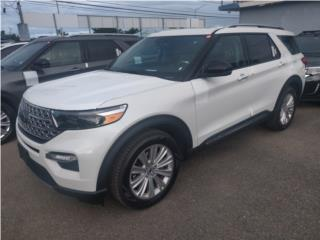 Ford Explorer 2021 Limited blanca perla, Ford Puerto Rico