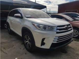 ***TOYOTA HIGHLANDER 2018***, Toyota Puerto Rico