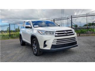 TOYOTA HIGHLANDER LE 2019 LIKE NEW!, Toyota Puerto Rico
