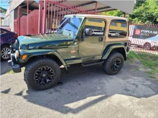 Jeep Sahara 4×4 full label, Jeep Puerto Rico