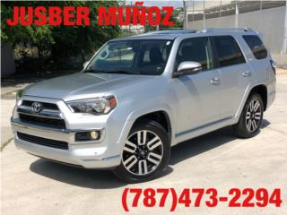 TOYOTA 4-RUNNER LIMITED 9 MIL MILLAS , Toyota Puerto Rico