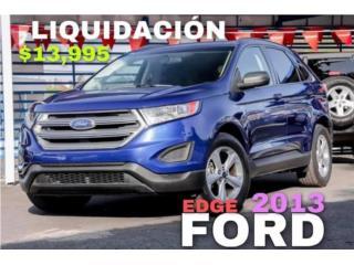 Ford Edge 2013 liquidación , Ford Puerto Rico