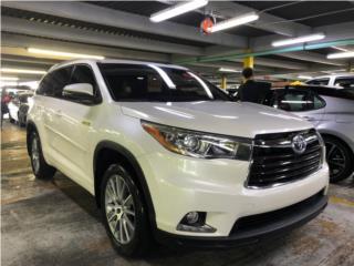 TOYOTA HIGHLANDER LIMITED HYBRID 2015, Toyota Puerto Rico