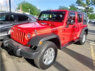 2016 JEEP WRANGLER 4X4 - solo 41k millas, Jeep Puerto Rico