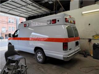 AMBULANCE 2012 FORD MC COY MILLER GAS 26281, Ford Puerto Rico