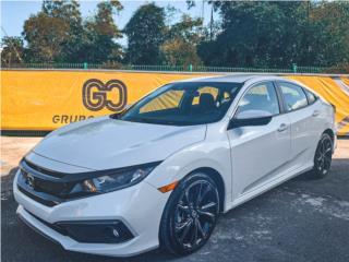 HONDA CIVIC SPORT 2019 EQUIPADO / $299 MENS!, Honda Puerto Rico