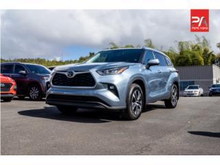 2020 Toyota Highlander XLE - Light Blue, Toyota Puerto Rico