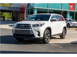 2019 Toyota Highlander - White , Toyota Puerto Rico