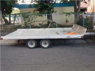 TRAILER DE PLATAFORMA EN ALUMINIO CARRETON, Otros Puerto Rico