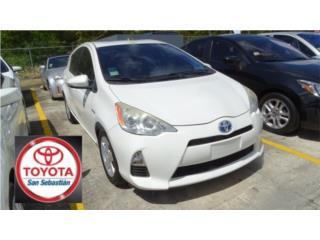 TOYOTA PRIUS C BLANCO 2013, Toyota Puerto Rico