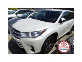 TOYOTA HIGHLANDER 2019 BLANCA, Toyota Puerto Rico