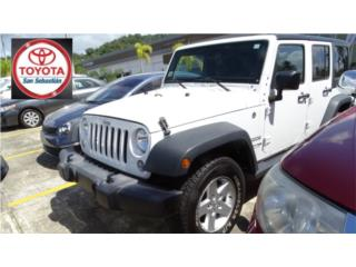 JEEP WRANGLER  4DOR 2018, Jeep Puerto Rico