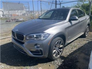 BMNW X6 2016 SOLO 45 MIL MILLAS $39900, BMW Puerto Rico
