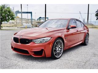 2017 BMW M-3 COMPETITION PKG 6-SPEED MANUAL, BMW Puerto Rico
