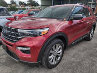 Ford Explorer 2020 XLT Ruby Red, Ford Puerto Rico