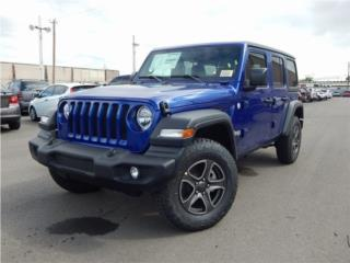 2019 Jeep Wrangler Unlimited Sport, J9607538, Jeep Puerto Rico