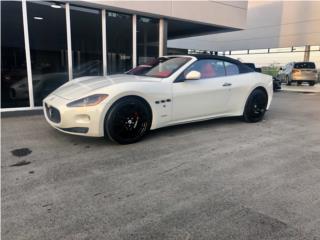 MASERATI GRAN TURISMO ROJO POR DENTRO, Maserati Puerto Rico
