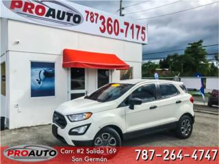 ECOSPORT 2018 FULL LABEL, Ford Puerto Rico