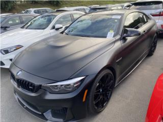 BMW M4 COMPETITION PACKAGE 2018 13k, $69,995, BMW Puerto Rico