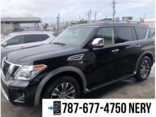 NISSAN ARMADA SL 2018 solo 3k millas, Nissan Puerto Rico