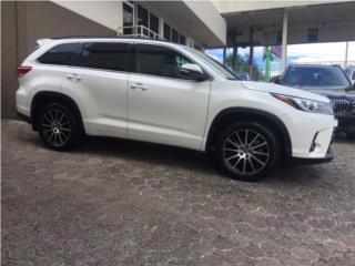 2018 TOYOTA HIGHLANDER SE FULL POWER, Toyota Puerto Rico