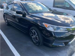 Honda Accord LX 2016 Negro Garantia puerto rico