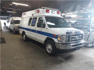 2 AMBULANCES 2014 FORD AEV 14993/14998 79K  , Ford Puerto Rico