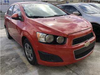 CHEVROLET SONIC 2013 ECONOMICO, Chevrolet Puerto Rico