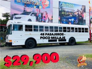 INTERNATIONAL POCO MILLAJE, 48 PASAJEROS., International Puerto Rico