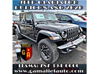 JEEP GLADIATOR RUBICON AÑO 2020! , Jeep Puerto Rico