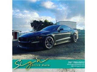 2018 Ford Mustang GT PP2 Recaro, LLAMA, Ford Puerto Rico