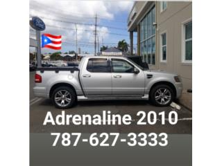 ADRENALINE 2010 FORD SPORT TRACK 787-627-3333, Ford Puerto Rico