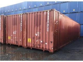 [LIQUIDACIÓN] Contenedor 45' x 102' (ancho), Equipo Construccion Puerto Rico