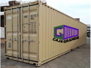 NEW ONE TRIP 40' NEW CONTAINERS!, Equipo Construccion Puerto Rico