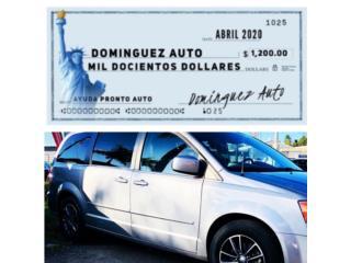 Dodge Grand Caravan Incentivo $1,200 mes de A, Dodge Puerto Rico