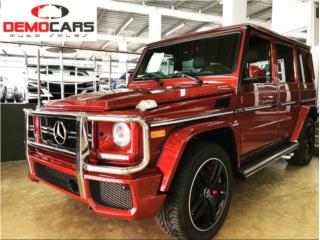 G 63 Storm red metallic , Mercedes Benz Puerto Rico